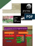 #USDE #REGURBANA 4/8 Los actores públicos y privados. Los nuevos activismos urbanos