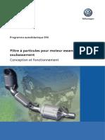SSP 590 - Filtre a Particules Pour Moteur Essence Dans Le Soubassement