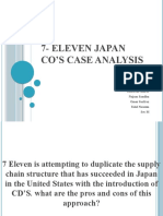 7- Eleven Japan Co's case analysis