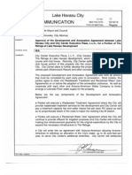 City Annexation Agreement