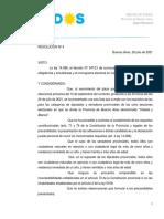 Oficialización de los legisladores provinciales de Todos