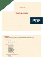 25-Lecture06-Design loads