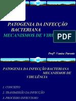 Aula 3 - Mecanismos de Virulencia
