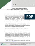 Ana Amélia Rodrigues Dos Santos - O Nome Dos Bichos Não São Os Bichos- A Crise Da Representação Da Linguagem Na Poesia Antuniana