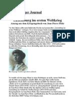 Luxemburg im ersten Weltkrieg