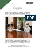 20-07-21 Realizan Gobernadora Pavlovich y Gobernador electo Durazo reunión de seguimiento del Proceso de Entrega-Recepción