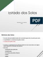 MEC Solos - Aula 3 - Estado Dos Solos