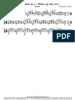 Waltz op.241 no 1 Carulli