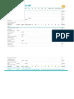 Modele de Budget Previsionnel