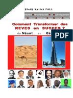 PDF - LIVRE - Comment Transformer Des RÊVES en SUCCÈS - Elhadji Malick FALL