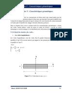CHP5-Caractéristiques geometriques.