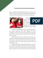PDIP Tolak Amandemen UUD demi Capres Independen