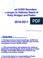 AUSD Ruby Bridges Boundary Change