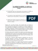 03-05-2020 FIRMAN CONVENIO EL GOBIERNO DE GUERRERO  Y EL LABDIS DE LA UAGRO PARA REALIZAR PRUEBAS DE DETECCIÓN DE COVID-19 EN EL ESTADO.docx
