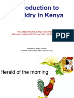 Introduction to Heraldry in Kenya