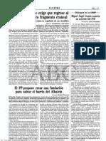 1996-08-24 - El alcalde de Orce exige que regrese al pueblo el polémico fragmento craneal