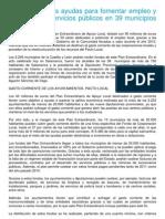 Alfonso Fdez. Mañueco firma convenio extraordinario de Cooperación Local 2011