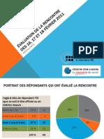 Résultats de l'évaluation de la rencontre REPTIC de février 2011