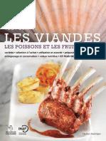 Tout Sur Les Viandes, Les Poissons Et Les Fruits de Mer ( PDFDrive )