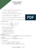Devoir de Contrôle N°1 - Math - 3ème Technique (2014-2015) Mr Saidani Moez