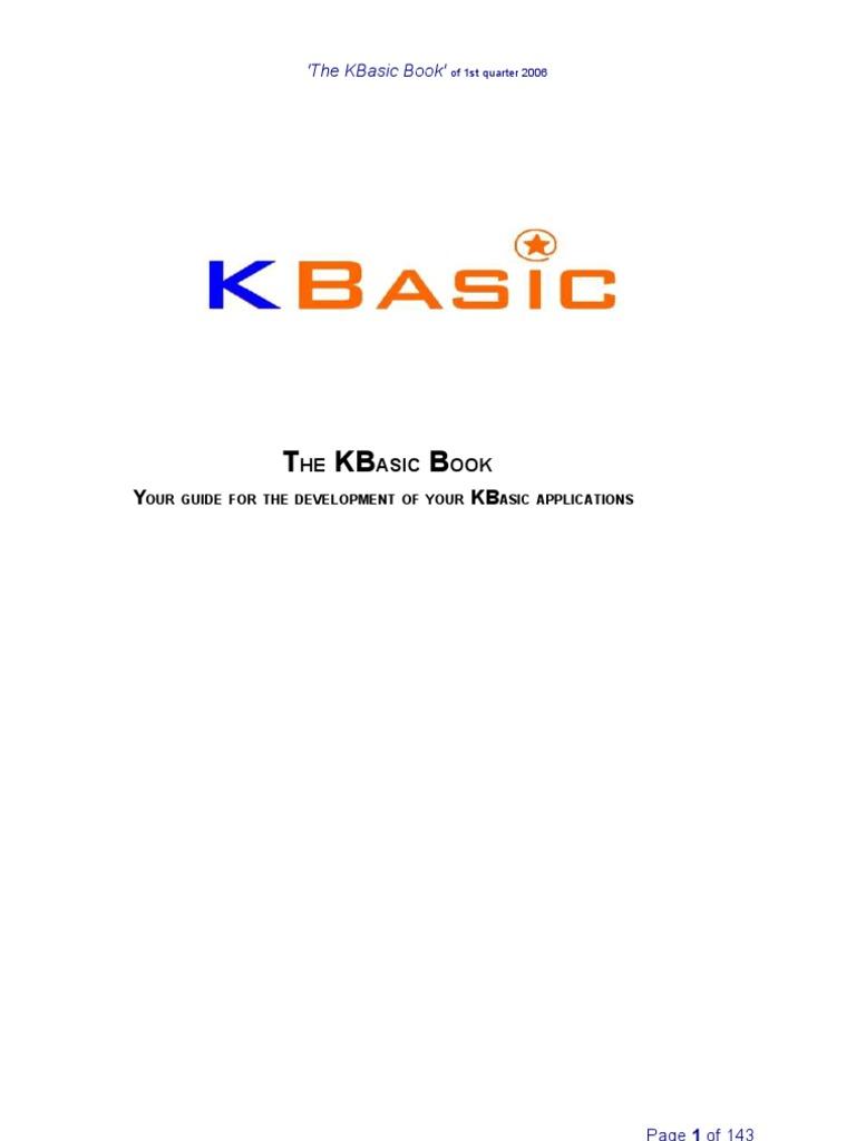 Kbasic addons. Videolan. Org.