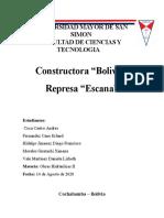 Proyecto Obras Hidraulicas II Bolivia