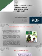 Código de La Infancia y La Adolescencia (Ley1098 de 2006) Art 90-97 v-H Pdfc