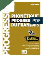 2012 Phonetique Progressive Du Francais - Debutant