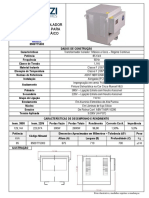 Folheto Transformador 8500TTC003