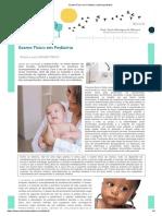 Exame Físico em Pediatria _ roteirospediatria