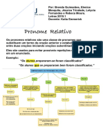 6. Pronomes relativos e suas funções sintáticas - exercícios