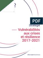 Stratégie vulnérabilités aux crises et résilience FR