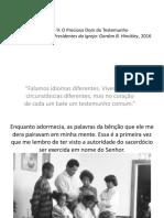 AULA 9 O DOM PRECIOSO DO TESTEMUNHO