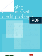 Managing customers with credit problems, June 2009