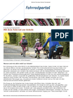 Mit Dem Fahrrad Zur Schule _ Fahrradportal