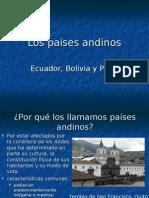 Los paises andinos