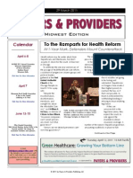Payers & Providers Midwest Edition – March 29, 2011