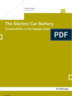 The Electric Car Battery