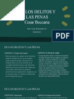 De los delitos y las penas (cesar Beccaria)