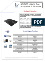 notice ACOMAX BOITIER EXTERNE USB2.0