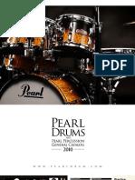 Pearl Drums General 2010