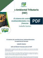 FAT - Fiscalidad Medioambiental - Experiencia Francesa