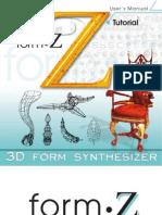FormZ v4 0 tutorial