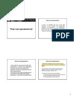 Lezione 9 Test Non Parametrici
