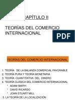 CAPITULO 2 TEORIA DEL COMERCIO INTERNACIONAL