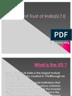 Genisis of UTI scam