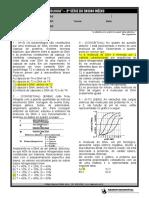 ACP - BIOLOGIA 3ª Série EM exercicio ácidos nucleicos 2021