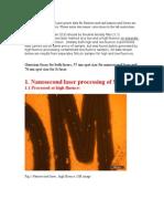 Micro nano experimental datas