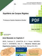 Aula 04 -2021-1 - Equilíbrio de Corpos Rígidos (1)