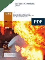 INAIL 2018 - Codice Di Prevenzione Incendi - Applicazioni Pratiche